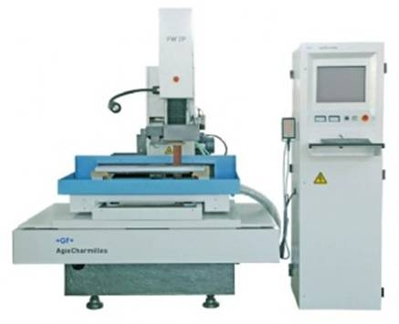 injection machine 14