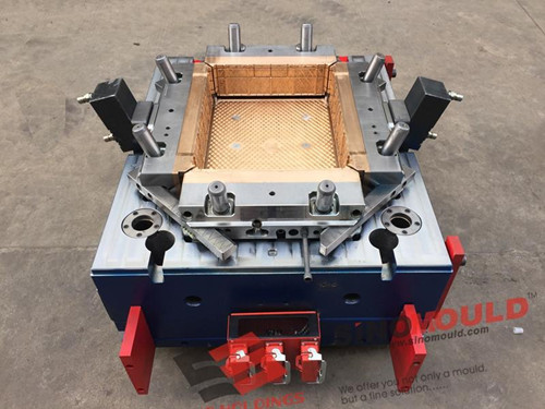 Crate mould with BeCu
