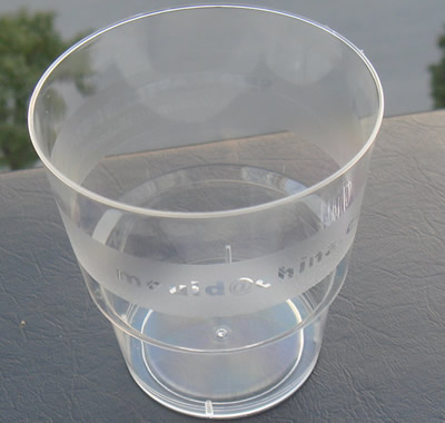 Aviation cup mould 6