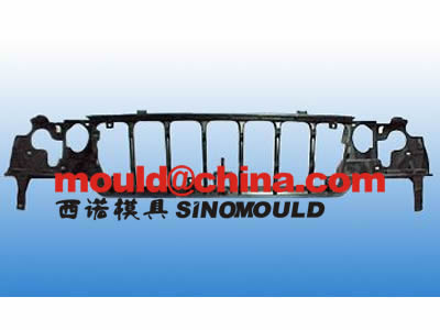 Gas-assisted Injection Mould