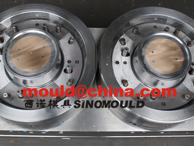 pail mould 2 cavities moulds core