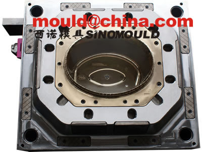Paint Bucket Mould/painting bucket mould cavity with copper-be inserted