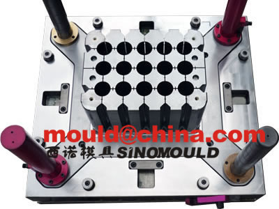 bottle crate mould cavity core pictures