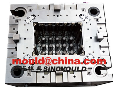bottle crate mould cavity core