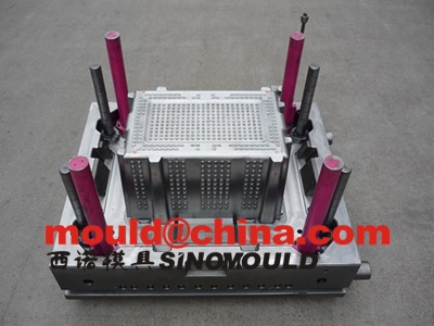 crate mould 1 cavity core side