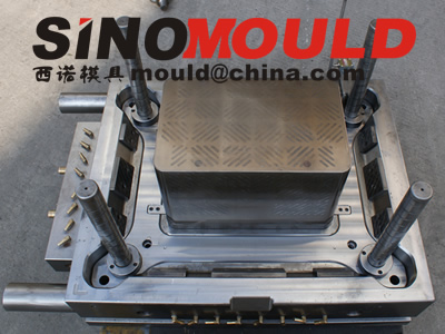 crate mould 1 cavity with moldmax