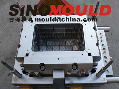 crate mould 1 cavity with moldmax 254