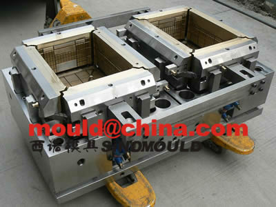 crate mould 2 cavities