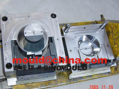 fan mould cores and cavities