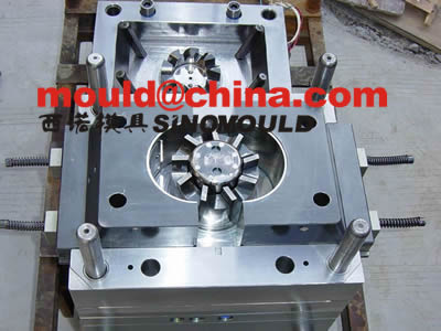 fan mould cores and cavities 6