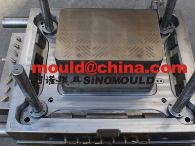 fish crate mould 1 cavity with moldmax 524