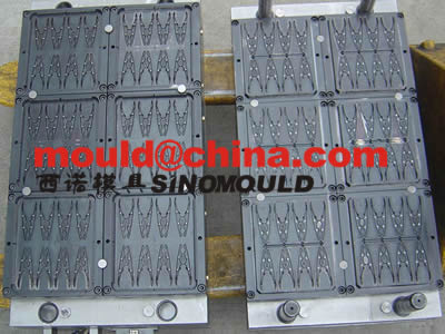 plastic clip mould 33
