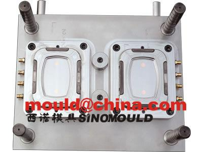 thinwall food container mould with in mold labeling 35