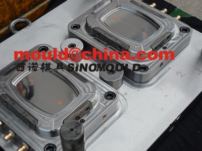 thinwall food container mould with in mold labeling
