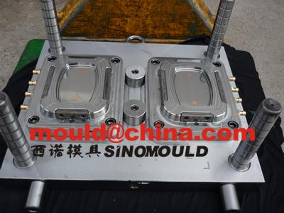 thinwall food container mould with in mold labeling 38