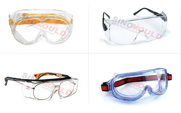 medical protective eyewear production lines
